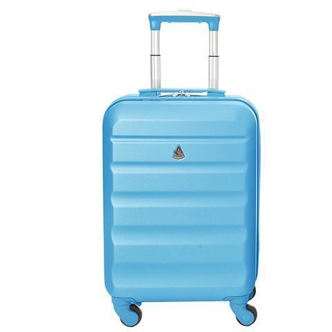 Aerolite (55x35x20cm) Lightweight Cabin Luggage | Blue