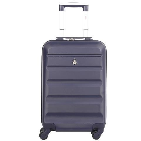 Aerolite (55x35x20cm) Lightweight Cabin Luggage | Navy