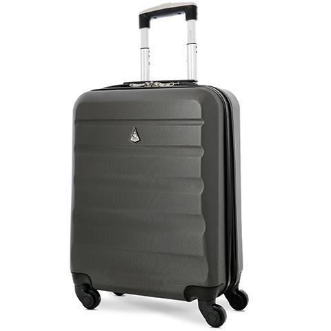 Aerolite (55x40x20cm) Lightweight Cabin Luggage | Charcoal