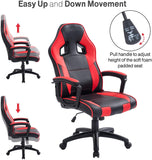 Executive Office Desk Chair Swivel PC Computer Office Desk Chairs with Arms and Back Support for Home & Office & Gaming Chair Use for Adults