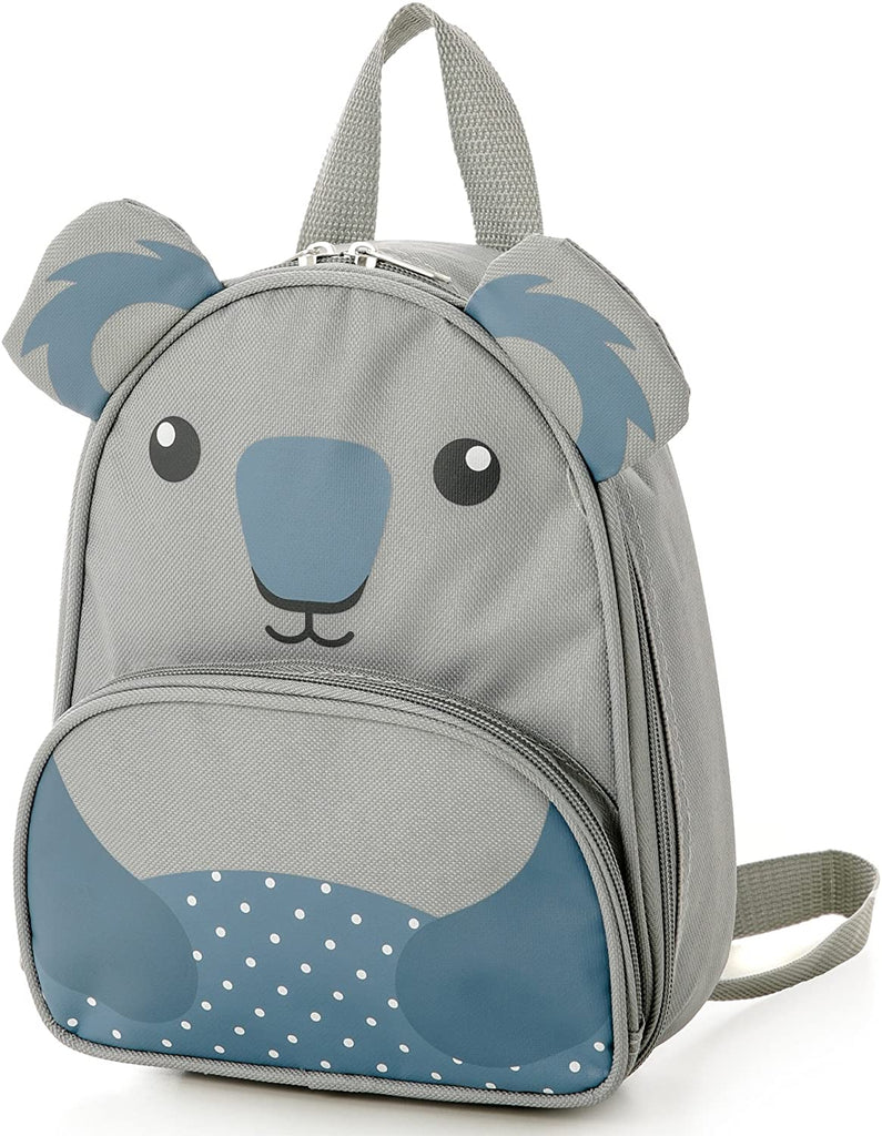 Childrens Kids Luggage Carry on Suitcase Travel Luggage Trolley and Backpack Set (Koala Trolley/Backpack)