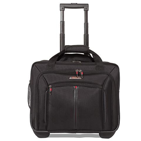 Aerolite (45x35x20cm) Rolling Laptop Bag | Black