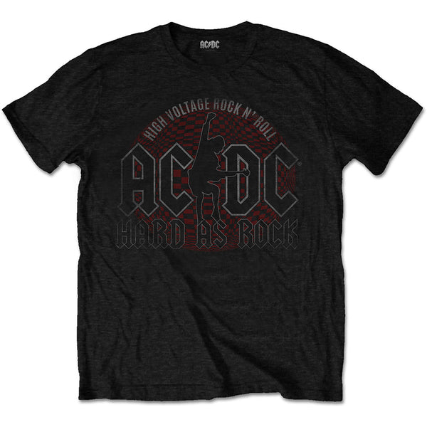 AC/DC Mens Officially Licenced T-Shirt: Hard As Rock