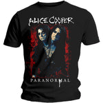 Alice Cooper Mens Licensed Official T-Shirt: Paranormal Splatter