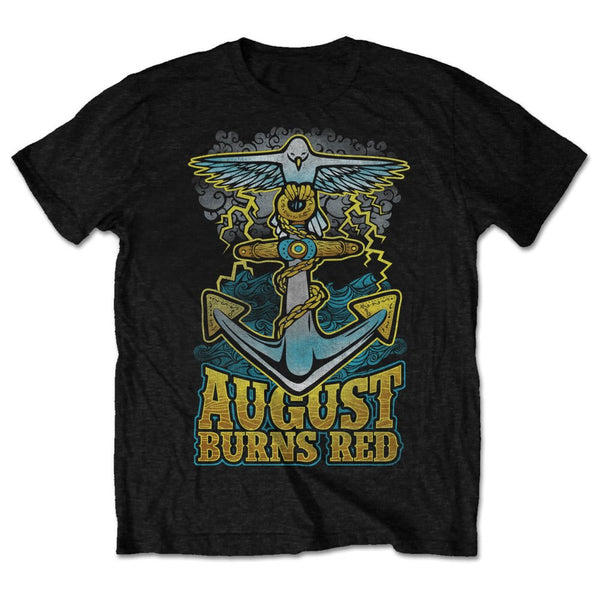August Burns Red Mens Licensed Official T-Shirt: Dove Anchor (Retail Pack)