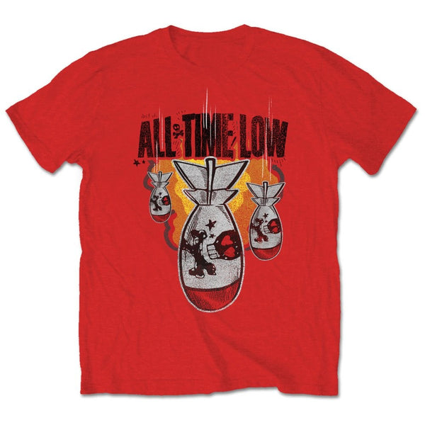 All Time Low Mens Licensed Official T-Shirt: Da Bomb