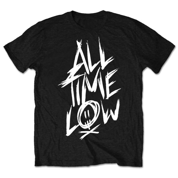 All Time Low Mens Licensed Official T-Shirt: Scratch (Retail Pack)
