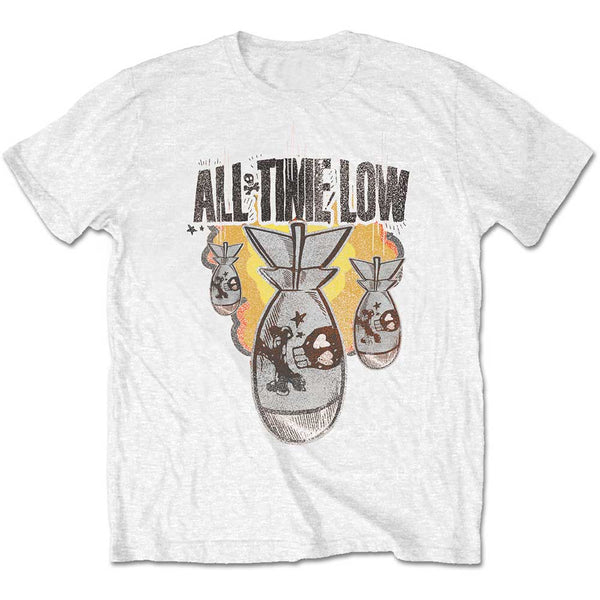 All Time Low Mens Licensed Official T-Shirt: Da Bomb (Retail Pack)