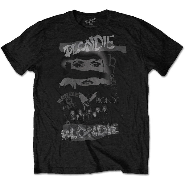 Blondie Mens Officially Licenced T-Shirt: Mash Up