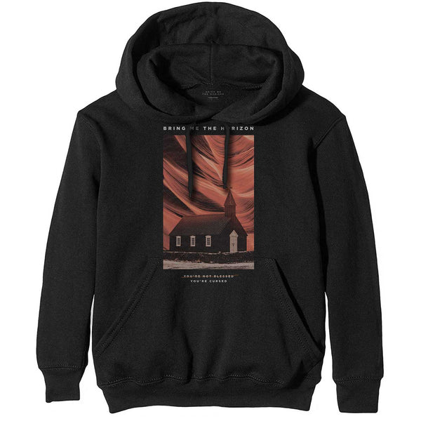 Bring Me The Horizon Mens Officially Licenced Pullover Hoodie: You're Cursed