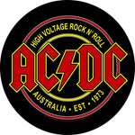 AC/DC Back Patch: High Voltage Rock N Roll