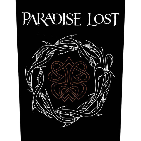 Paradise Lost Back Patch: Crown of Thorns