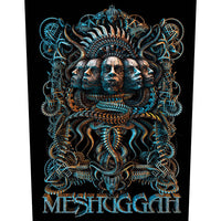 Meshuggah Back Patch: 5 Faces