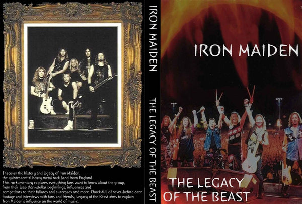 IRON MAIDEN:THE LEGACY OF THE.