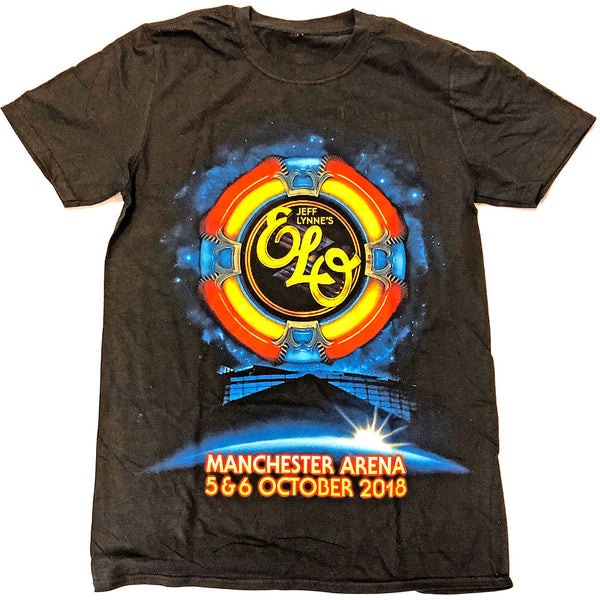ELO Mens Officially Licenced T-Shirt: Manchester Event (Ex. Tour)