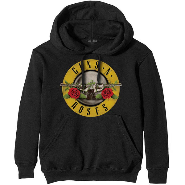 Guns N' Roses Mens Officially Licenced Pullover Hoodie: Classic Logo