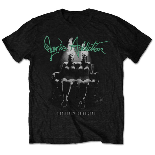 Jane's Addiction Mens Licensed Official T-Shirt: Nothing's Shocking (Retail Pack)