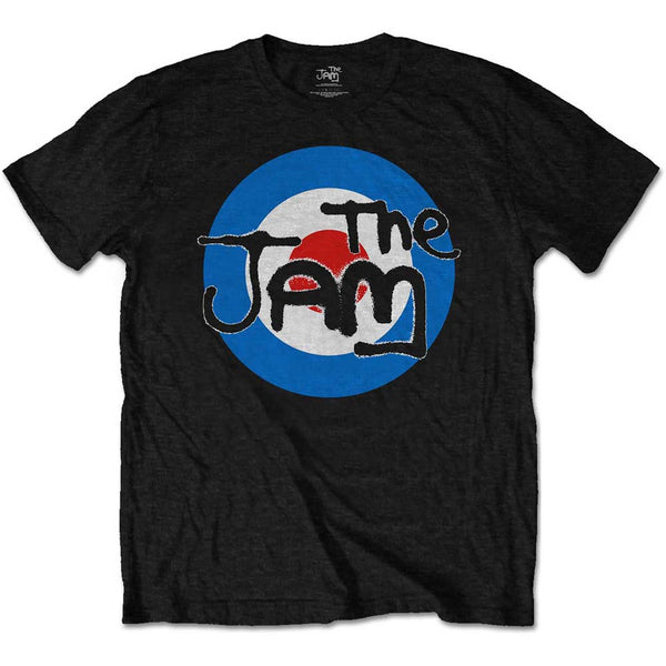 The Jam Mens Officially Licenced T-Shirt: Spray Target Logo (Retail Pack)