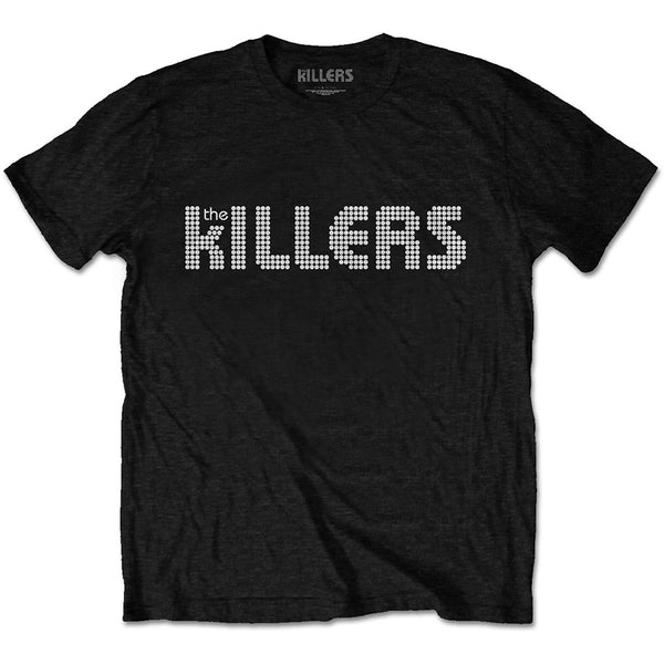 The Killers Mens Officially Licenced T-Shirt: Dots Logo