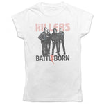 The Killers Ladies Officially Licenced T-Shirt: Battle Born