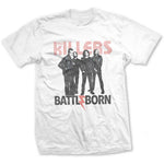 The Killers Mens Officially Licenced T-Shirt: Battle Born
