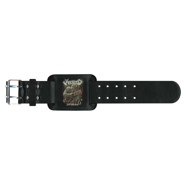 Aborted Leather Wrist Strap: Goremageddon