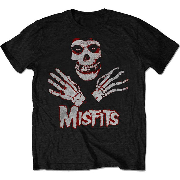 Misfits Mens Licensed Official T-Shirt: Hands (Retail Pack)