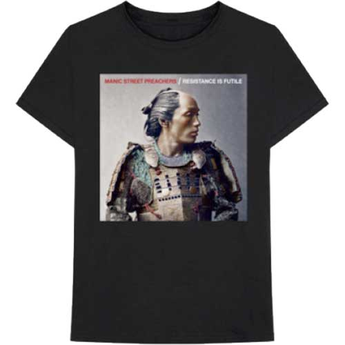 Manic Street Preachers Mens Licensed Official T-Shirt: Resistance is Futile Album Cover