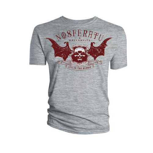 School of Horror Ladies Officially Licenced T-Shirt: Nosferatu University