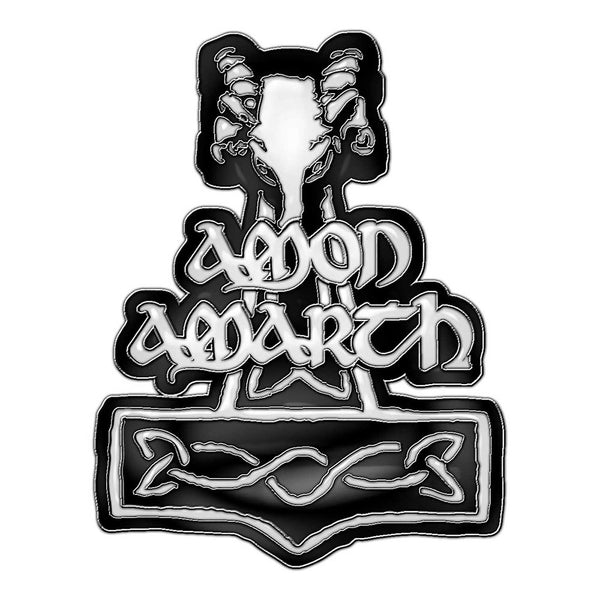 Amon Amarth Pin Badge: Hammer (Retail Pack)