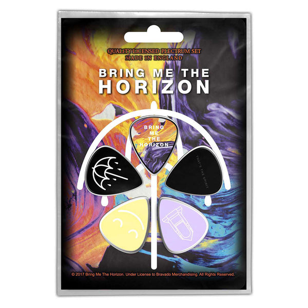 Bring Me The Horizon Plectrum Pack: That's The Spirit