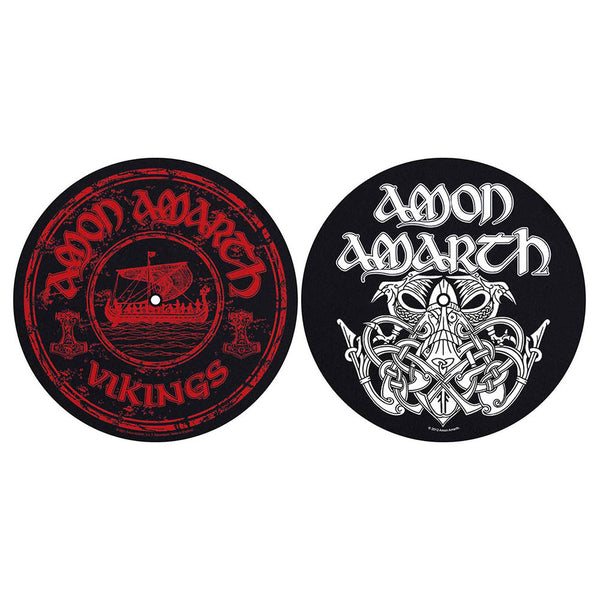 Amon Amarth Turntable Slipmat Set: Vikings