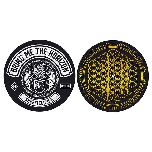 Bring Me The Horizon Turntable Slipmat Set: Sheffield UK