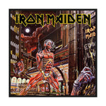 Iron Maiden Standard Patch: Somewhere Back In Time (Retail Pack)