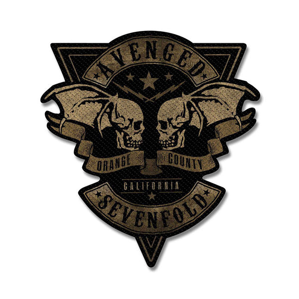 Avenged Sevenfold Standard Patch: Orange County Cut-Out (Loose)