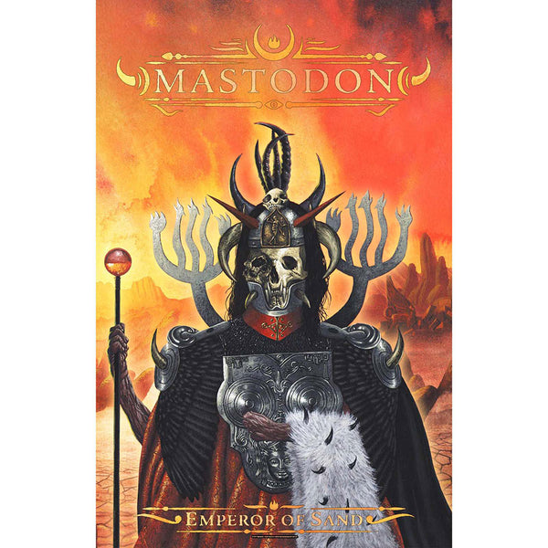 Mastodon Textile Poster: Empire Of Sand