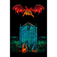 Dark Angel Textile Poster: Darkness Descends