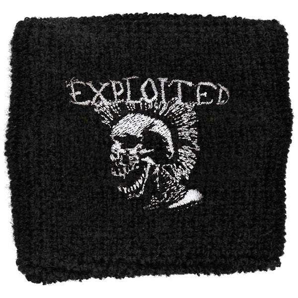 The Exploited Sweatband: Mohican Skull (Loose)