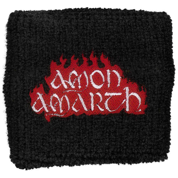 Amon Amarth Sweatband: Red Flame (Loose)