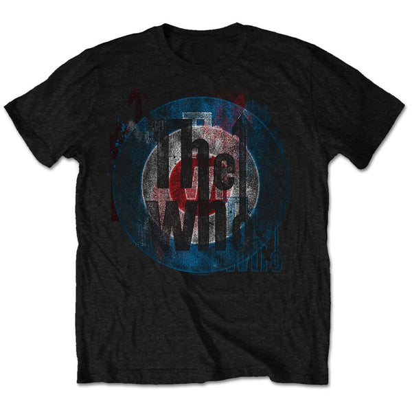 The Who Mens Licensed Official T-Shirt: Target Texture (Retail Pack)