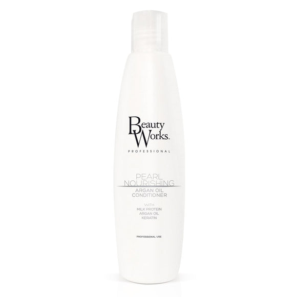 Beauty Works Pearl Nourishing Argan Oil Conditioner - haristylershop