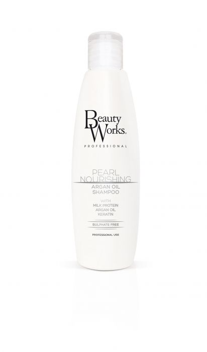 Beauty Works Pearl Nourishing Argan Oil Shampoo - haristylershop
