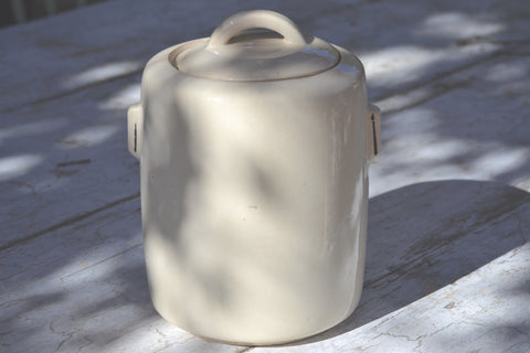 cream cookie jar