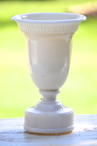 white glass light