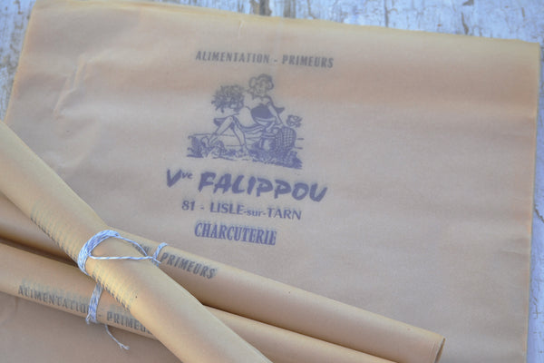 french charcuterie paper