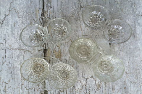 glass salt cellars