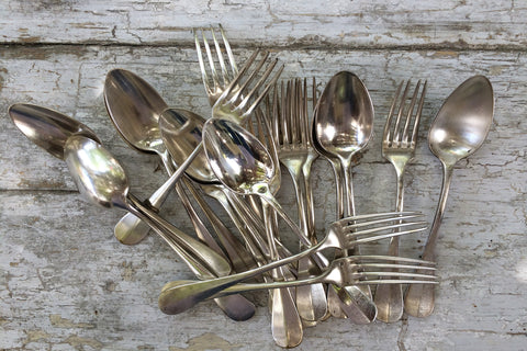 french flatware set/20