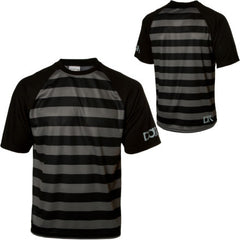 Dakine Guys Striped Short Sleeve Rider jersey