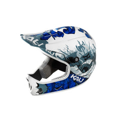 KALI AVATAR CARBON COMPOSITE HELMET MOUNTAIN BIKE FULL FACE OSLO BLUE