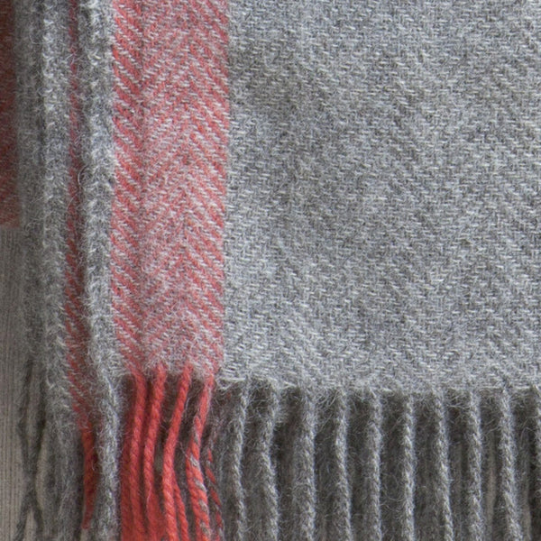 HERRINGBONE STRIPE BLANKET